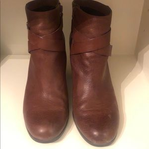 Cole Haan Brown Booties size 9.5M